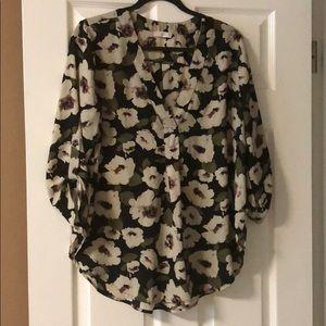 Lush floral shirt